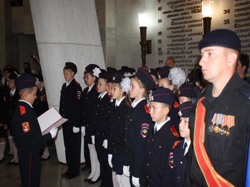 поздравления в посвящение кадетов пеку много лет